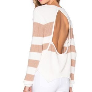 Lovers + Friends X Revolve Bright Sea Sweater S